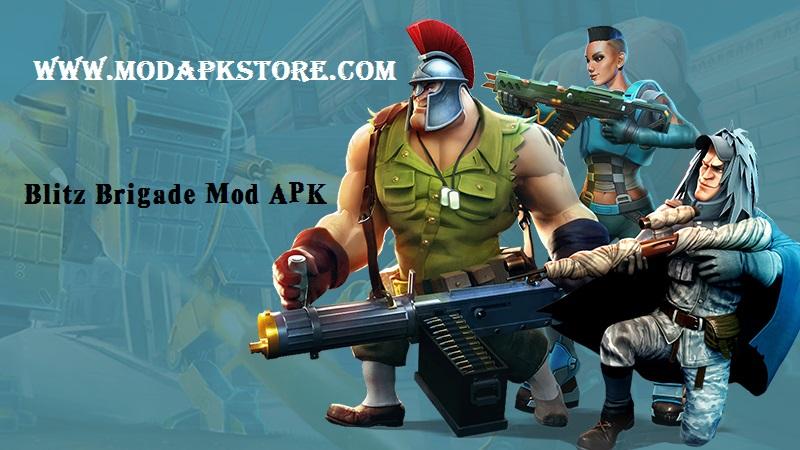 Blitz Brigade Mod APK MODAPKStore