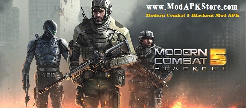 Modern Combat 5 Blackout Mod APK ModAPKStore