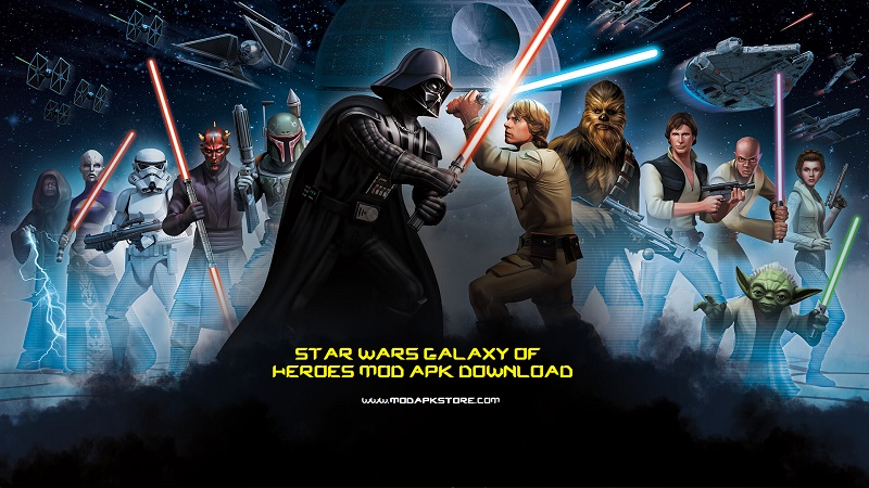 Download Star Wars Galaxy of Heroes Mod APK (UPGRADED 2019)
