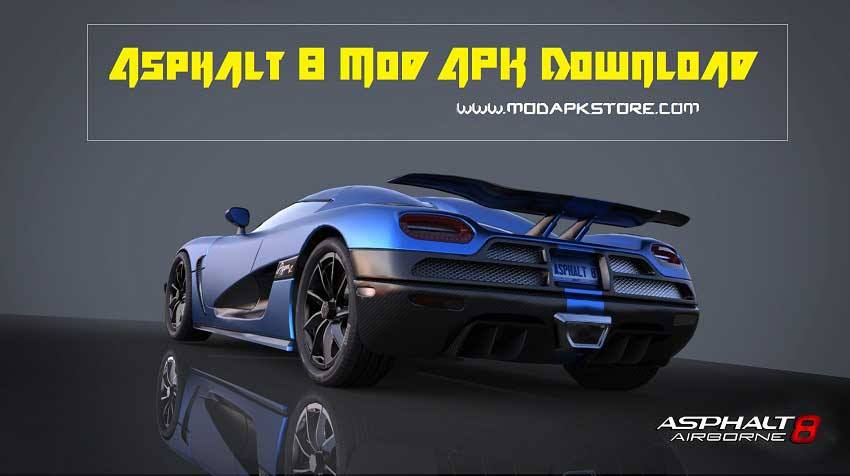 Asphalt 8 Mod APK downlaod