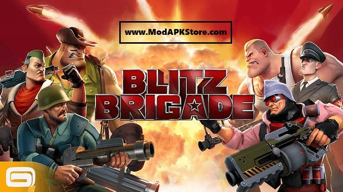 Blitz Brigade Mod APK Store