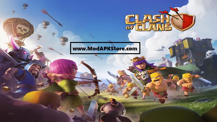 Clash of Clans Mod APK Store
