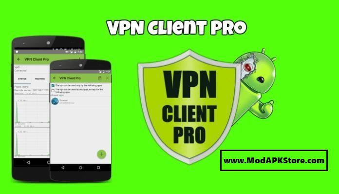 VPN Client Pro Mod APK Cover