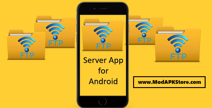 WiFi Pro FTP Server Mod APK Cover