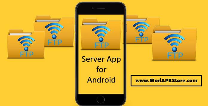 WiFi Pro FTP Server Mod APK Cover