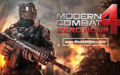 modern combat 4 mod apk