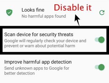 Disable Security check Lucky Patcher
